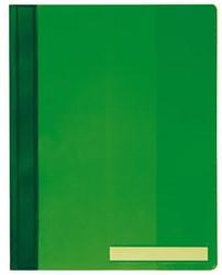 Snelhechter Durable A4 PVC extra breed groen