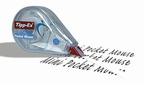 Correctieroller Tipp-ex 5mmx6m pocket mini mouse blister 2+1 gratis-2