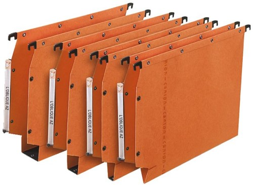 Hangmap Elba AVZ Mark2 A4 U-bodem 15mm oranje