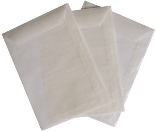 Envelop Quantore loonzak 95x145 50gr pergamijn 1000stuks-3