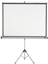 Projectiescherm Nobo statiefscherm 175x132.5cm