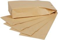 Envelop Quantore monsterzak 100x245x40mm bruin 250stuks-2