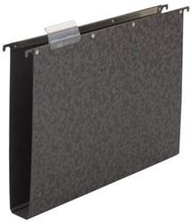 Hangmap Elba Vertic A4 40mm hardboard zwart