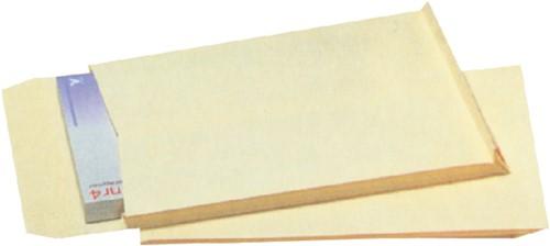 Envelop Quantore monsterzak 230x350x38mm zelfkl creme 125st-3