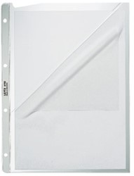 Showtas Leitz 4780 4-gaats 0.13mm PP 2-zijde open
