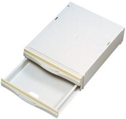 Stapelcassette Pas A6851-201 2laden lichtgrijs