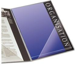Insteektas Tarifold driehoek 170x170mm zelfklevend PP transparant