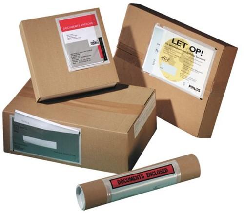 Paklijstenvelop zelfklevend onbedrukt 240x110x25mm 250stuks-2