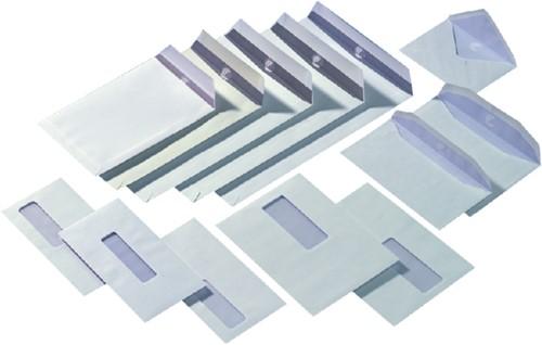 Envelop Quantore 162x229mm venster 4x11cm links zelfkl 500st-2