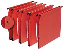 Hangmap Elba Medium A4 U-bodem 15mm karton oranje