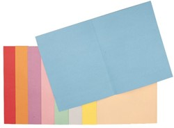 Vouwmap Esselte A4 met overslag manilla 180gr blauw
