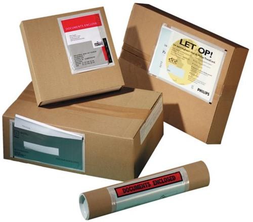 Paklijstenvelop Quantore zelfklevend blanco 230x121mm 1000st-2