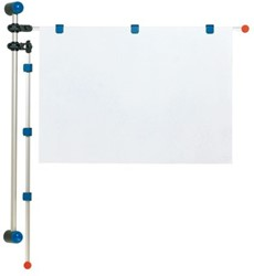 Wandhouder Hebel 1.32m grijs
