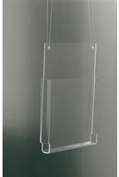 Folderhouder OPUS 2 hangend A4 dwars glashelder