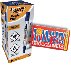 Viltstift Bic Pro 1mm permanent zwart-3