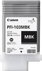 Canon PFI-103MBK Inkt Mat Zwart