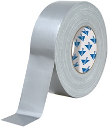 Deltec Ducttape Extra Zilver50mmx50