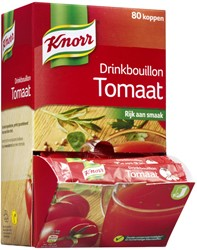Knorr drinkbouillon tomaat 80