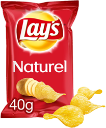 Lay's Naturel Chips 20x40 gr
